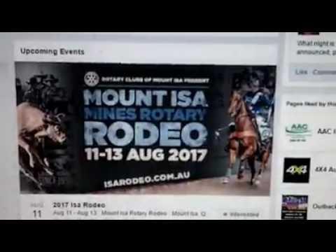 Mount Isa Rotary Rodeo Hiring Expatriate Worker Sonali In Australia