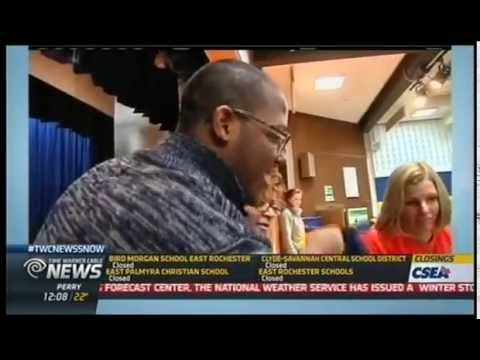 RIT on TV: Backpacks for RCSD students