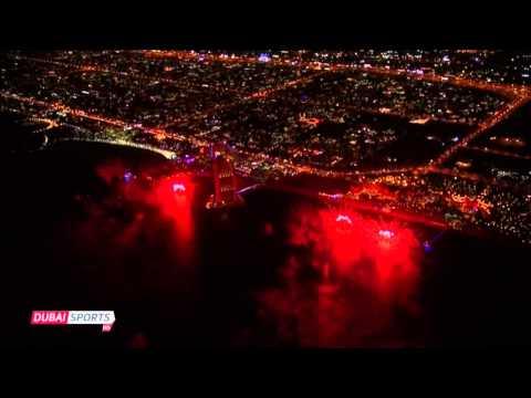 Palm Jumeirah Island in Dubai - New Years Eve 2014