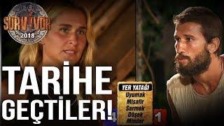 Adem ve Sema Anlat Bakalım Tarihine Geçtiler ! | 40.Bölüm | Survivor 2018