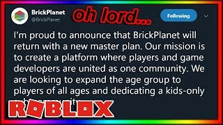 brick planet is RETURNING... (roblox competitor)