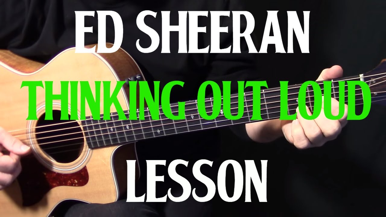 how to play thinking out loud on acoustic guitar by ed sheeran live version acoustic guitar. Black Bedroom Furniture Sets. Home Design Ideas