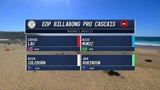 EDP Billabong Pro Cascais Round Two, Heat 21