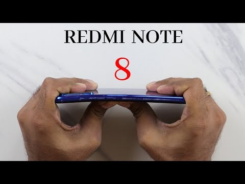 Redmi Note 8 Durability Test | | SCRATCH WATER BEND DROP | Gupta Information Systems | Hindi