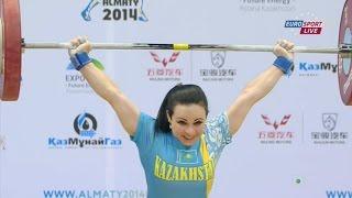Чемпионат мира 2014.  Женщины в.к.  до 48 кг.