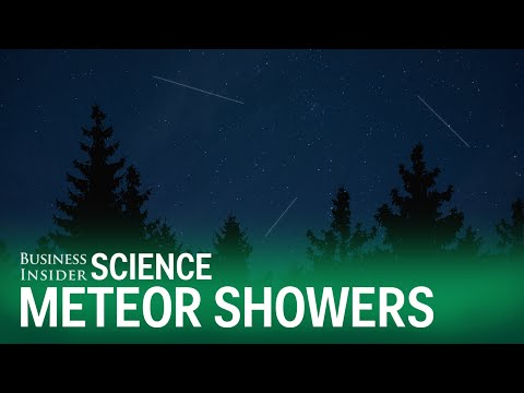 What you're actually seeing during a meteor shower