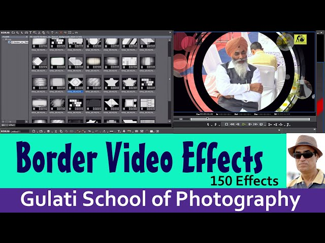 18 Borders Video Effects | Edius Effects For Video Editing | Trackmatte Effects | Edius 7,8,9 | 150