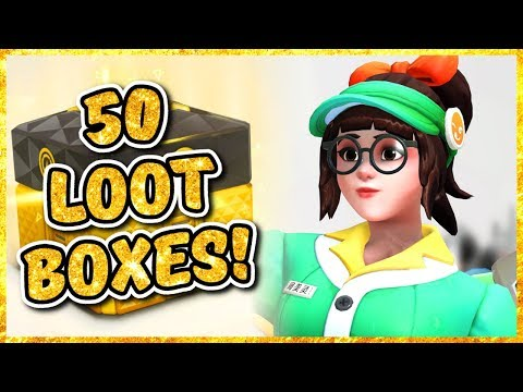 Overwatch - OPENING 50 ANNIVERSARY 2019 LOOT BOXES