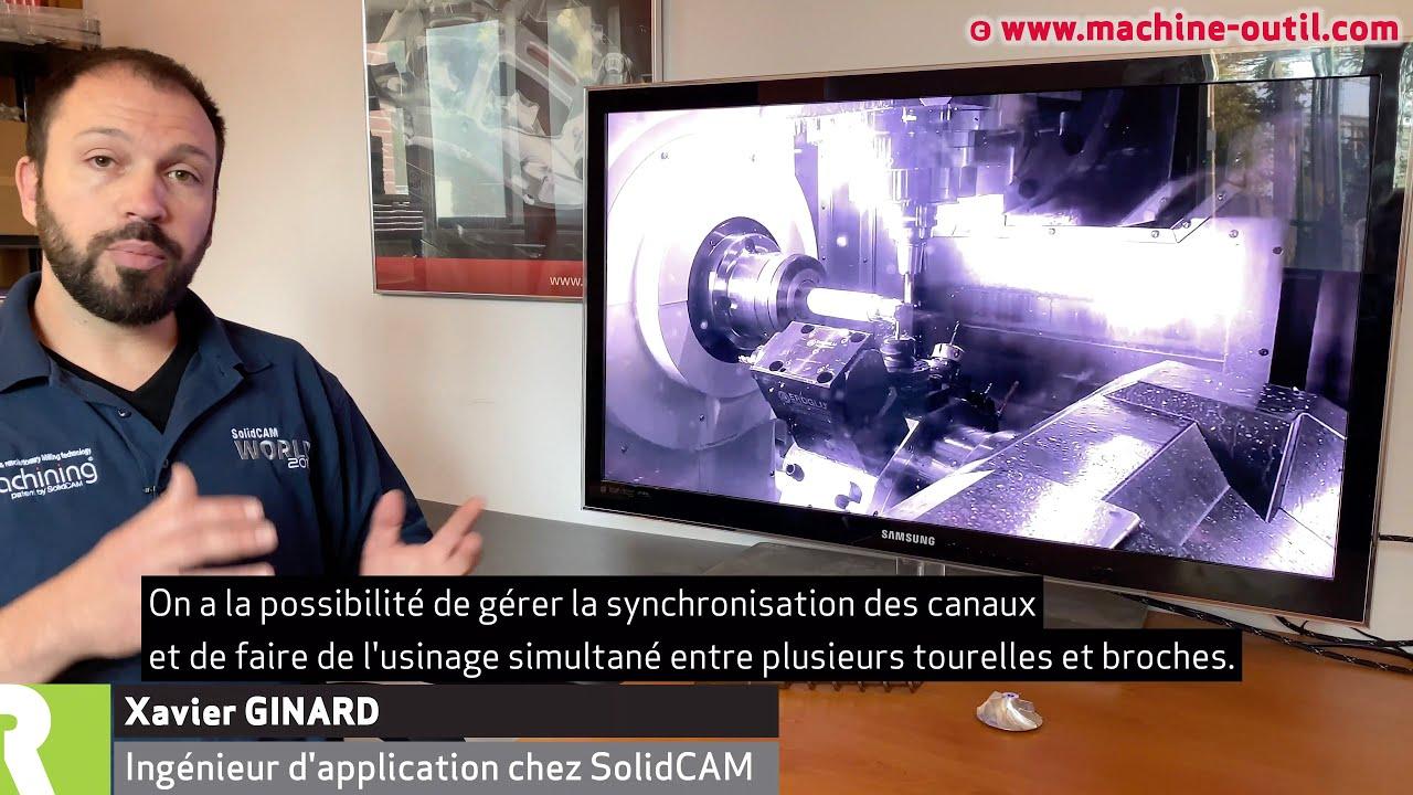 SolidCAM, la CFAO usinage intégrée dans Solidworks et Autodesk Inventor : nouveautés 2020