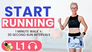 The BEST Way to Start RUNNING (Learn to RUN at Home)