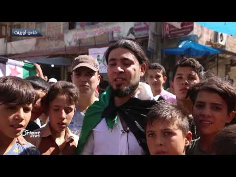 مئات المتظاهرين في الدانا شمال إدلب في جمعة لابديل عن رحيل الأسد  - 19:53-2018 / 9 / 14
