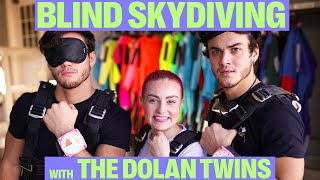 One of Molly Burke's most viewed videos: BLINDFOLDED SKYDIVING W/ THE DOLAN TWINS!