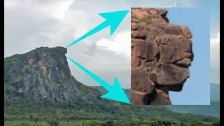 ¿Wurde Diese Frau Vor 12.000 Jahren In Den Berg Gemeißelt?