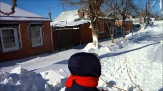 Шокирующее видео  г Ейск ул Рабочая и Нижнесадовая(последствие метели., 2014-02-04T22:38:26.000Z)