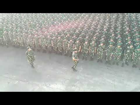 Yel yel TNI BIKIN MRINDING .....