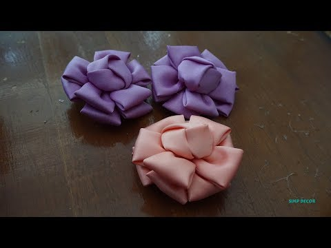 How to Make Brooches From Fabric   Handmade Flower Brooch Ideas