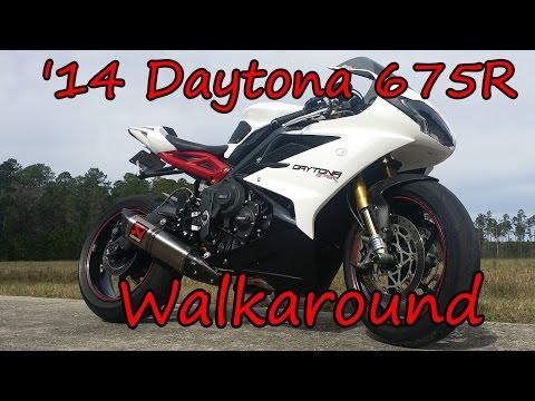 Triumph Daytona R Walkaround