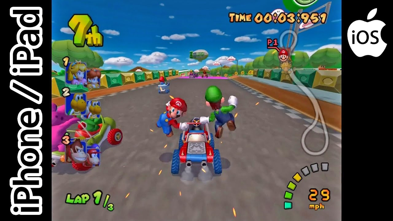 ios kart Mario Kart: Double Dash!! | Dolphin Emulator Streamed via  ios kart
