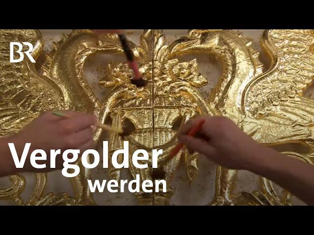 Vergolder/-in | Ich mach's | Ausbildung | Beruf | BR
