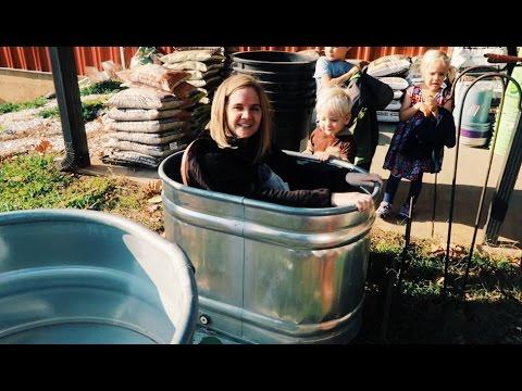 Farm Trough Bath Tub Youtube