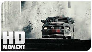 Конец первой гонки - Смертельная гонка (2008) - Момент из фильма