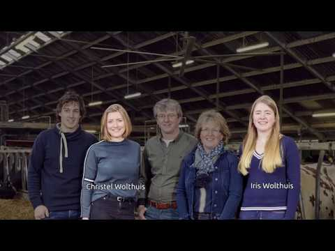 Lely Astronaut - Testimonial - familie Wolthuis (Nederland)
