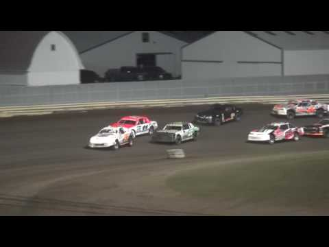 Shiverfest 2016 Stock Car feature Lee County Speedway 10/29/16