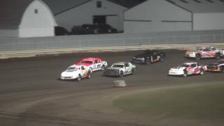 Lee County Speedway Shiverfest 2016 IMCA Stock Car Feature