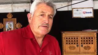 Santa Fe Spanish Market - Artist Interview - Andrew C. Garcia | Furniture