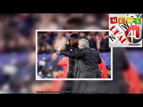 Man Utd ace Paul Pogba reacts well to dropping - Mourinho