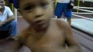 5 Year Old  Boxer Jam Floyd Agrabio