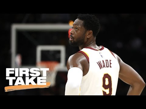 Stephen A. Smith reacts to Dwyane Wade asking to come off the bench for Cavs | First Take | ESPN