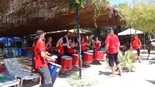 BLOCO ALEGRIA LIVE ON CORFU / JULY 2010 / DASSIA BEACH / (01)