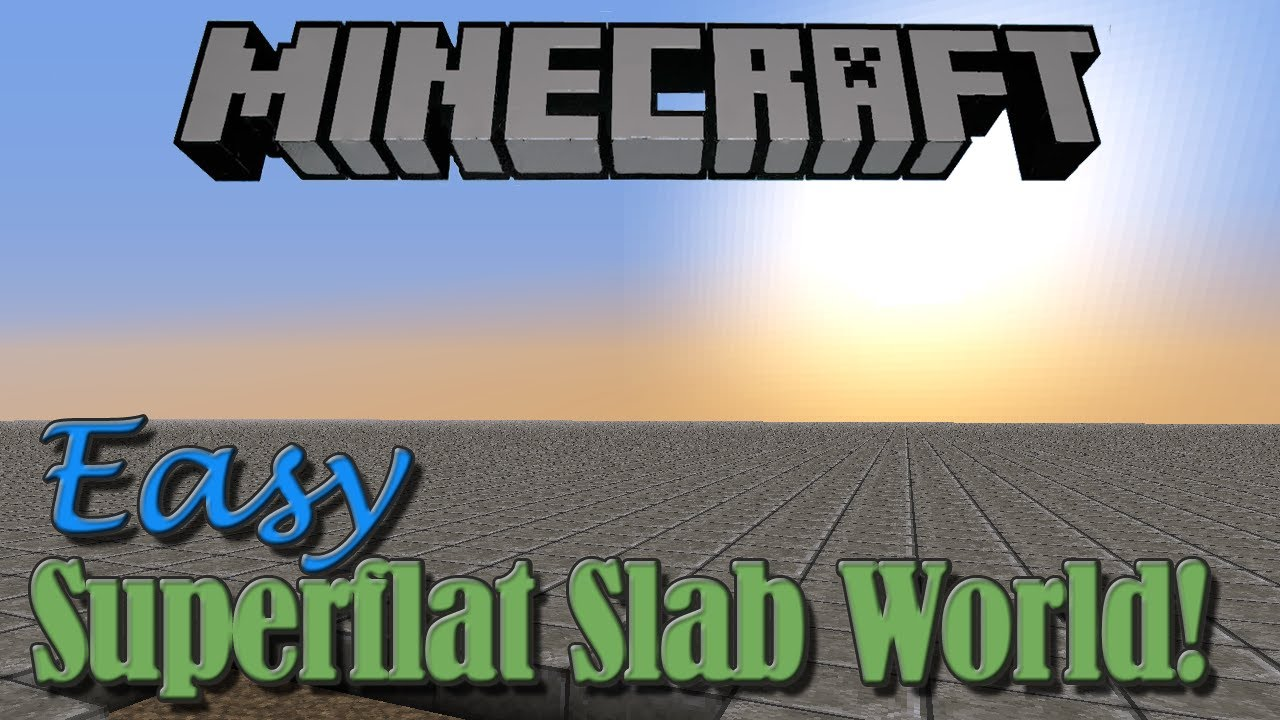how to make the invisble slab in minecraft