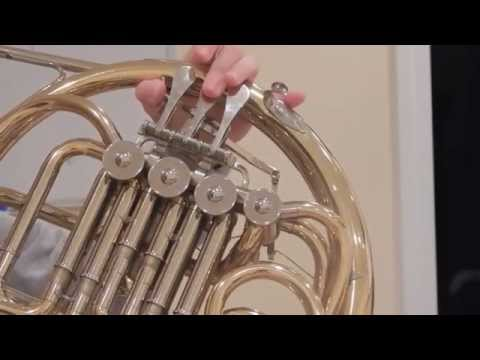 A French Horn's C Major Scale