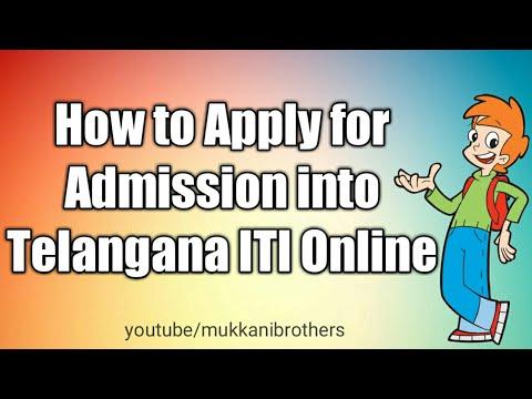 How to Apply for ITI in Telangana,ఐటిఐ లోకి అడ్మిషన్ల కొరకు అప్లై చేయటం ఎలా?