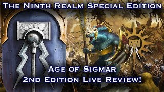 The Ninth Realm Special Edition: Age of Sigmar 2nd Edition Live Review!