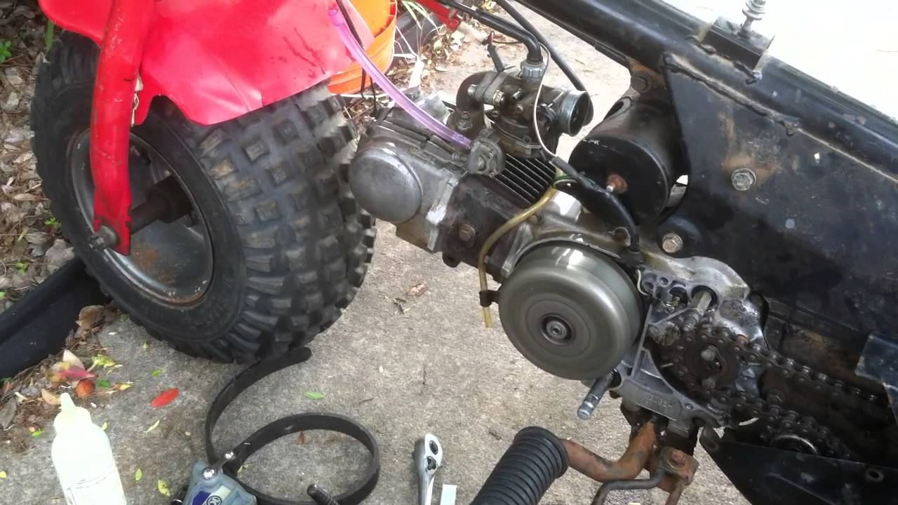 Atc 70 Motor With A Factory Rev Limit