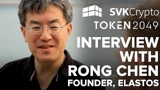 The Future Of The Internet With Rong Chen, Founder Of Elastos!