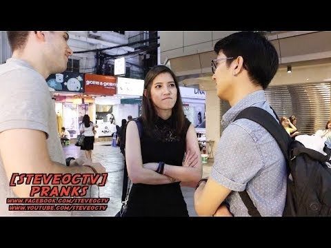 Asking Thai People How To Pick Up Thai Girls Featuring Brazilian Guy Friend