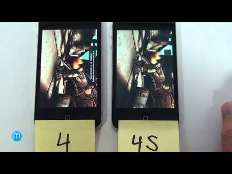 Apple iPhone 4S vs. iPhone 4