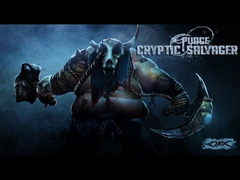 dotafx dota2 workshop pudge the cryptic salvager youtube
