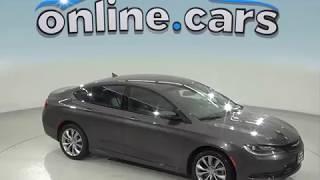 oA97325TA Used 2015 Chrysler 200 Gray Sedan Test Drive, Review, For Sale