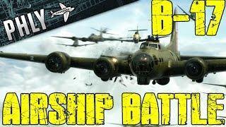 War Thunder-B-17 Huge Formation - Air Battleships! War Thunder Gameplay