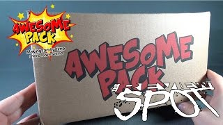 Subscription Spot - Awesome Pack October 2015 Subscription Box OPENING!