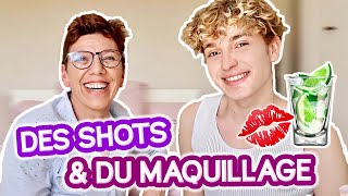 ON BOIT DES SHOTS ET ON SE MAQUILLE ! (Maman vibes)