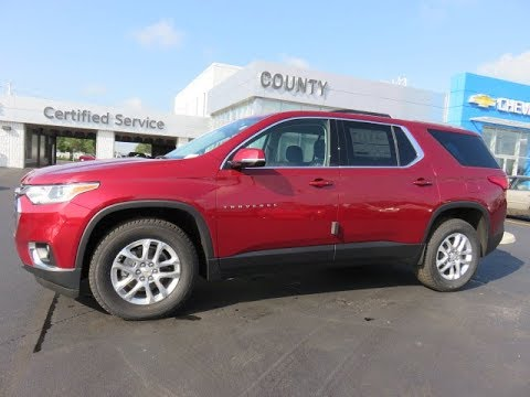 Used Chevy Traverse >> 2018 Traverse LT Cajun Red Tintcoat - YouTube