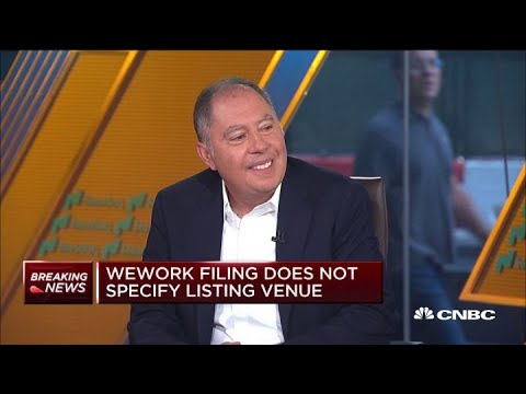 Watch a venture capital investor weighs in on WeWork's IPO filing