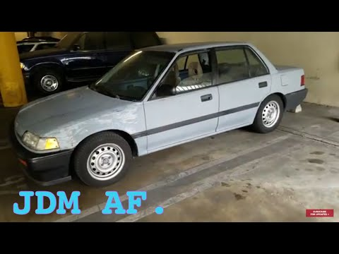 ⚠️(SOLD)1988 Honda Civic FOR SALE Or will be junked