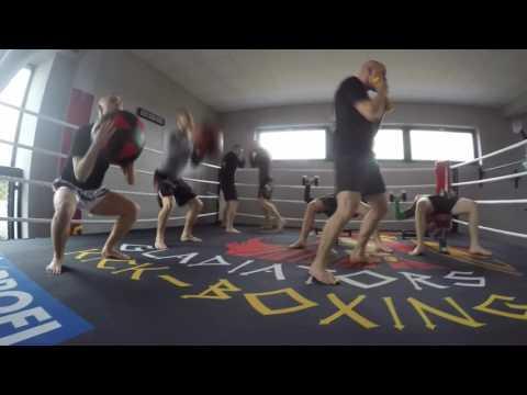 Gladiators Kick Boxing Bełchatów - Wigilijne stacje 2016